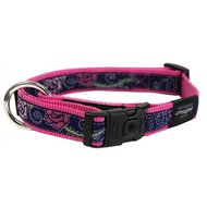 Rogz For Dogs Scooter Halsband Denim Rose 16mmx26-40cm
