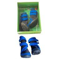 Boony Hondenschoenen Functioneel Zwart/blauw XL