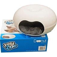 You Zoo Plastic Huis Donut Wit Met Kussen