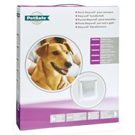Petsafe Hondenluikje Medium Wit/transparant 740