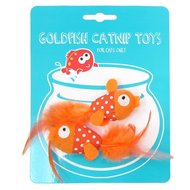 Happy Meow Catnip Speelgoed Goudvis 5x3cm