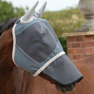 Weatherbeeta Fly Mask Deluxe with Nose Grey