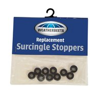 Weatherbeeta Singel Stoppers Rubber 10 Piecès Noir