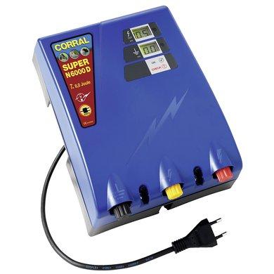 Corral Électrificateur Super N6000D 6,0 Joule 6,0 Joule