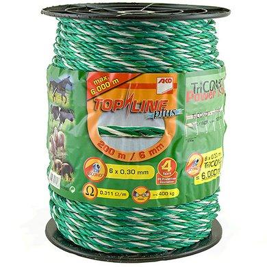 Ako Seil Top Line Plus Green/White 200m/6mm