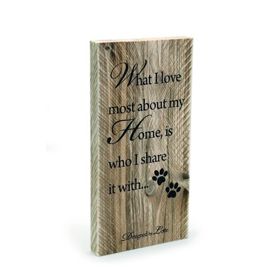 Designed By Lotte Holzregal Textbord 19,5x40cm