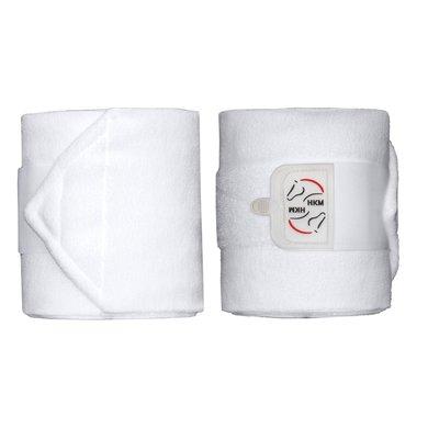 HKM Bandages Polaire Performance Blanc 300cm