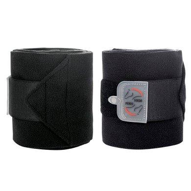 HKM Bandages Polaire Performance Noir 300cm