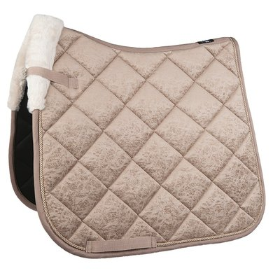 HKM Tapis de Selle Marley Polyvalence Taupe Poney