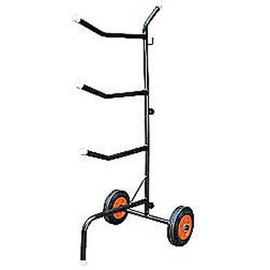 Harrys Horse 3 Arm Saddle Trolley Black