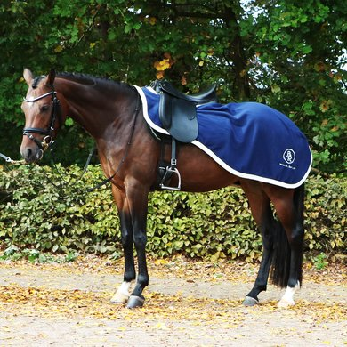 BR Quarter Rug Event Fleece 380g 1 Sided Blue