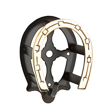 Pfiff Bridle Bracket Black Gold