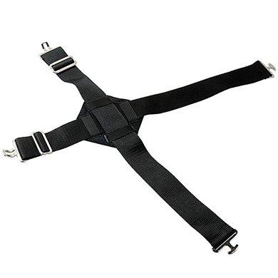 Pfiff Cross Surcingle Extension Black