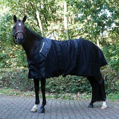 Back on Track Mesh Rug Horse Black