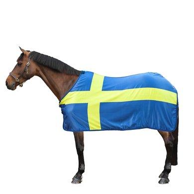 HKM Couvertures Anti-Transpiration Flags Drappeau Suède 135/185