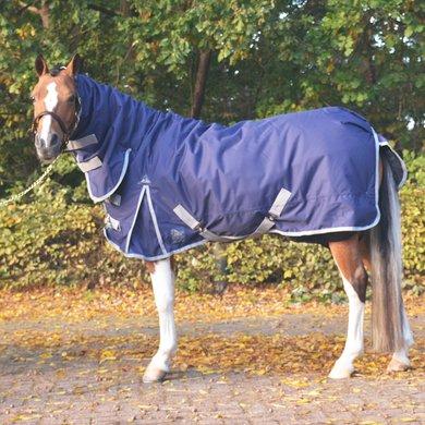 Harrys Horse Regendeken Thor 200g met Nek Navy