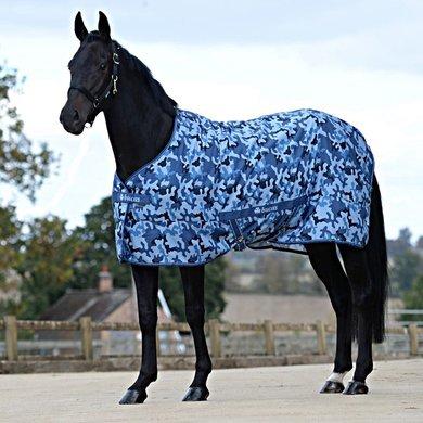 Bucas Freedom Twill Sheet Blue Camouflage