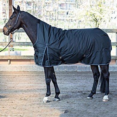 Harrys Horse Regendeken Thor 200g Highneck Jet Black