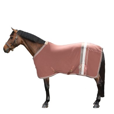 Eskadron Couvertures Anti-Transpiration Fleece Stripe Rosewood XL