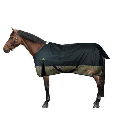 Harrys Horse Regendeken Thor Fleece 0g Jetblack 155/205