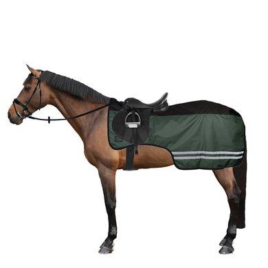 Harrys Horse Couverture de Marcheur 0g Fleece Vert foncé M