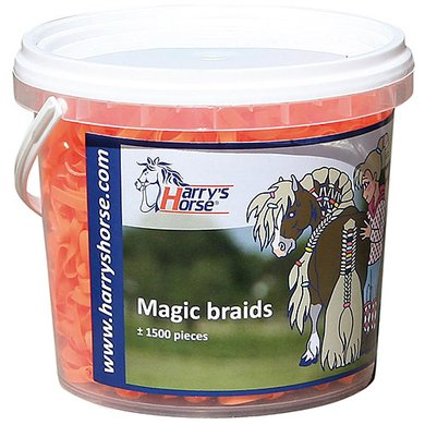Harrys Horse Magic Braids Pot Orange