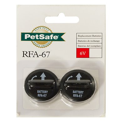 Petsafe Battery Module RFA-67D-11 2 Pieces 6v