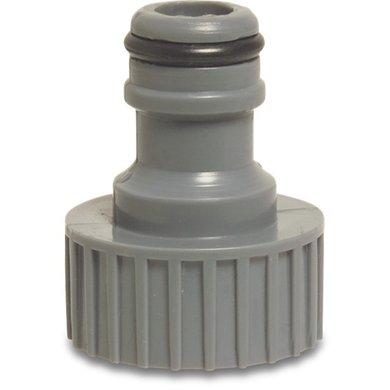 Hydro-Fit Kraanaansluiting Knel PVC-U 1/2