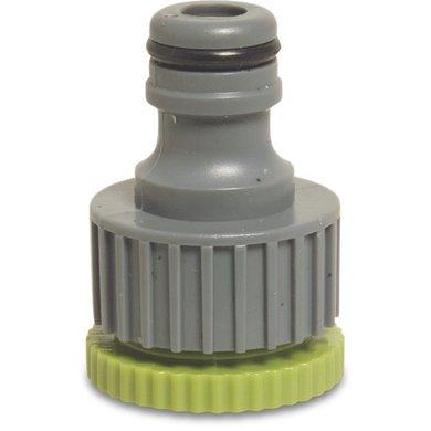 Hydro-Fit Aansluiting BinnenxMannelijk grijs/groen