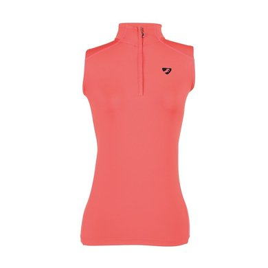 Aubrion Top Westbourne Mouwloos Baselayer Coral