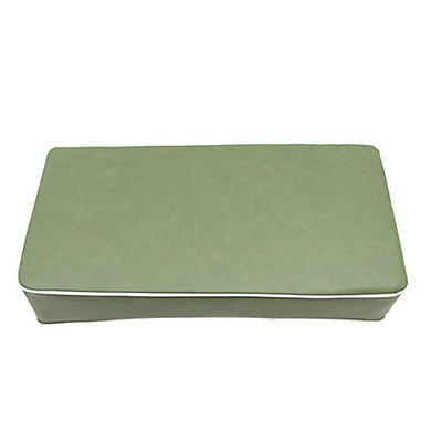 Zijdelings kussen PVC, groen