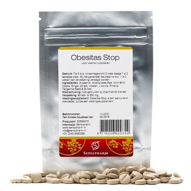 Sensipharm Obesitas Stop - Kleine Huisdieren 90 tabletten