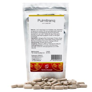 Sensipharm Pulmitranq - Paard 180 tabl. a 1000 mg