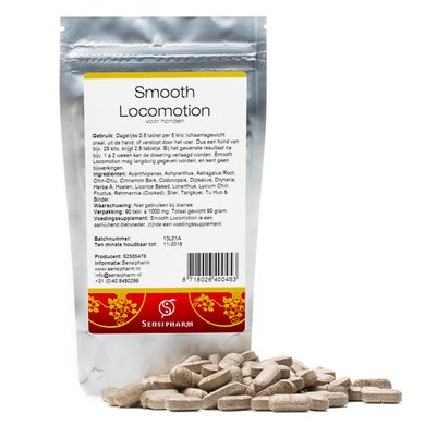 Sensipharm Smooth Locomotion - Hond 90 tabl. a 1000 mg
