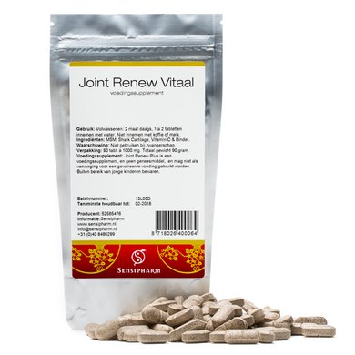 Sensipharm Dietary Supplement Joint Renew Vital 90 Tablets