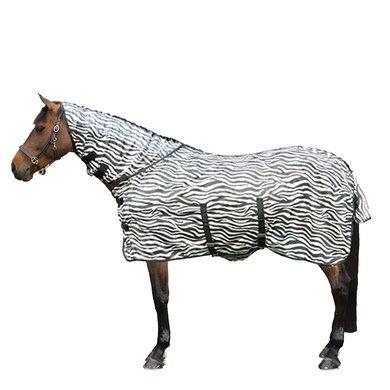 HKM Vliegendeken Met Hals Zebra 115/165