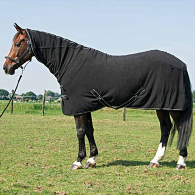 Harrys Horse Fleecerug Deluxe with Neck Black