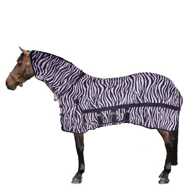 Harry's Horse Vliegendeken French Blue Hals Zebra