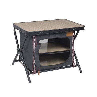 Bo-Camp Legkast/tafel Mayfair Grijs 60x43,5x48 cm