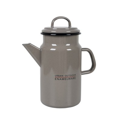 Bo-Camp Thee/Koffiepot Emaille Taupe 1,8l