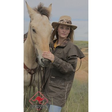 Scippis Flinders Riding Jacket Bruin