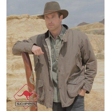 Scippis Drysdale Jacket bruin 3XL