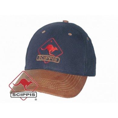 Scippis OILSKIN CAP natuur/olijfgroen OneSize