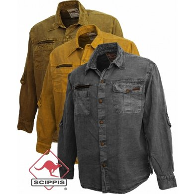 Scippis Broome Shirt tobacco L