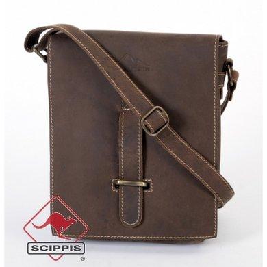 Scippis Messenger Bag Postman bruin OneSize