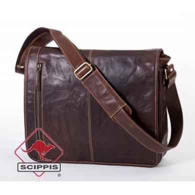 Scippis Messenger Bag ATLANTA brandy OneSize