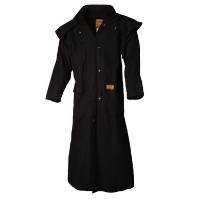 Bush Skin Riding Coat Zwart