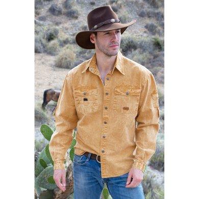 Scippis Cowra Shirt mustard