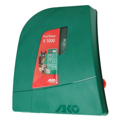 Ako Duo Power X 1000 Green 12V/230V/1,0 Joule