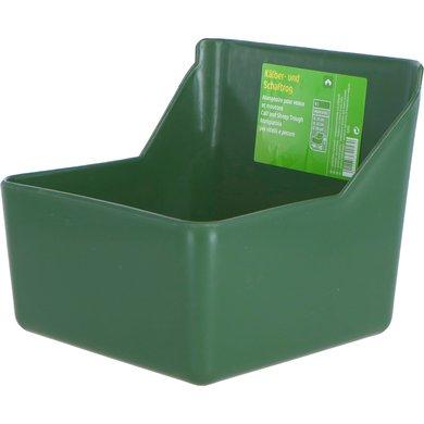 Kerbl Kälber- und Schaftrog Grün 6L